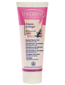Logodent Herbal Dental Gel Rosemary Sage