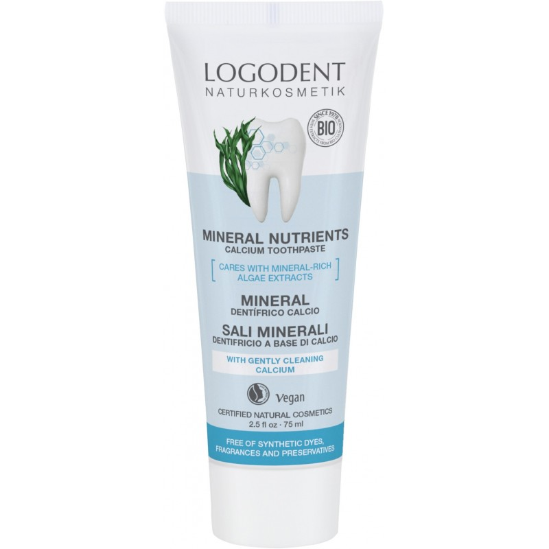 Mineral Nutrients Calcium Toothpaste