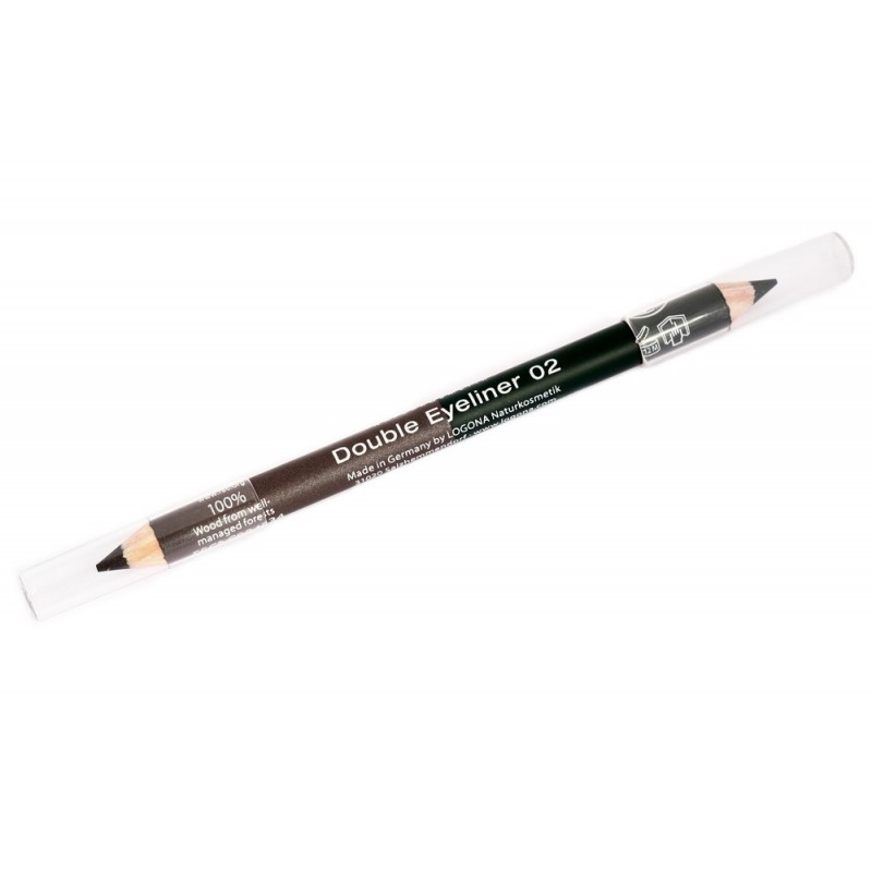 Double Eyeliner Pencil no. 02, forest