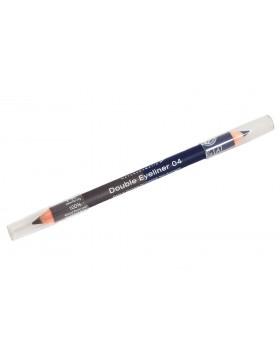 Double Eyeliner Pencil no. 04, steel grey