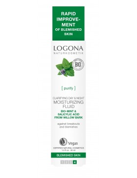 Logona Clarifying Day&Night Moisturizing Fluid