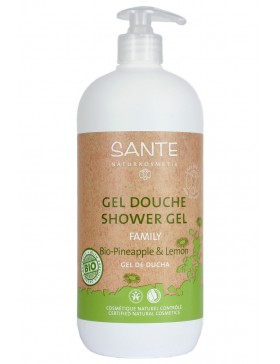 Organic Pineapple & Lemon Shower gel