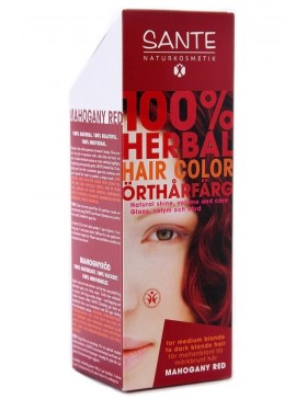 Herbal Hair Color Mahogany Red