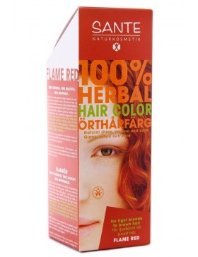 Herbal Hair Color Flame Red