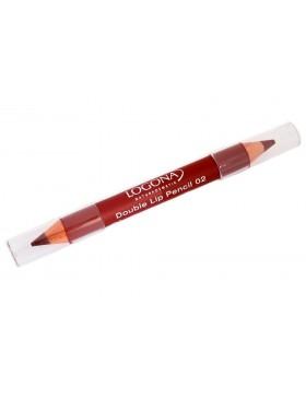 Double Lip Pencil no. 02, chestnut