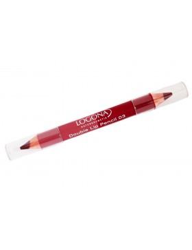 Double Lip Pencil no. 03, berry