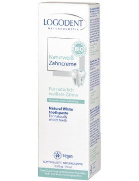 Logodent Natural White Toothpaste