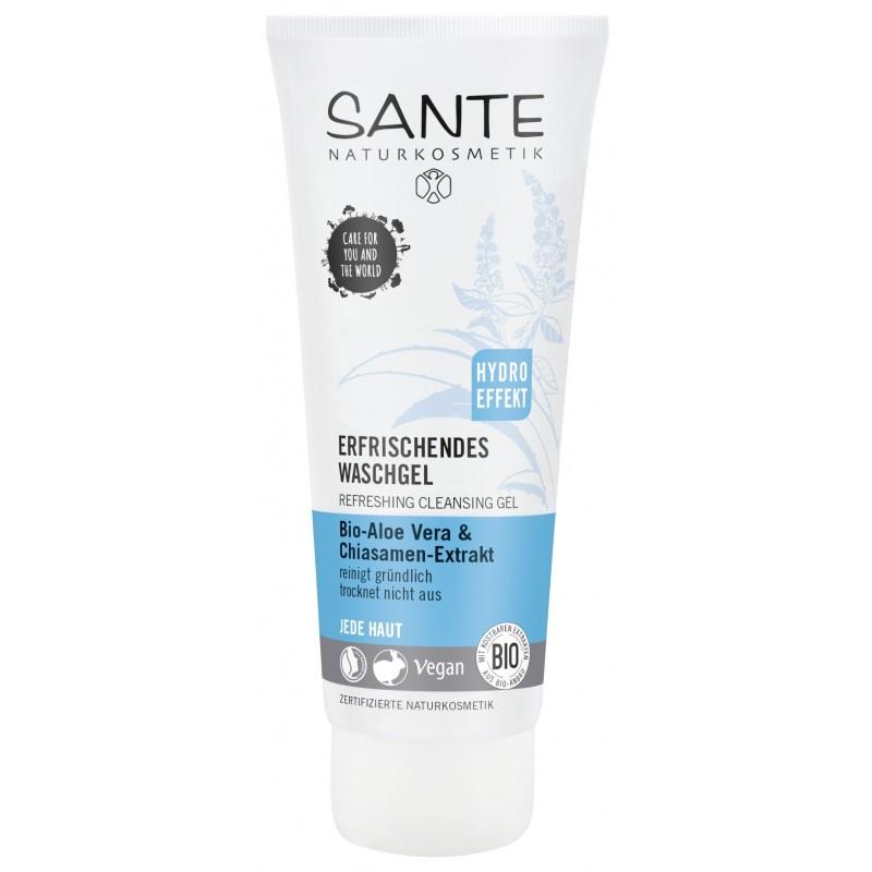 Sante Refreshing Cleansing Gel with Bio Aloe Vera and Chia