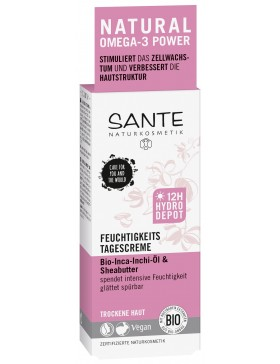 Sante Moisturizing Day Cream with bio shea butter and inca inchi oil