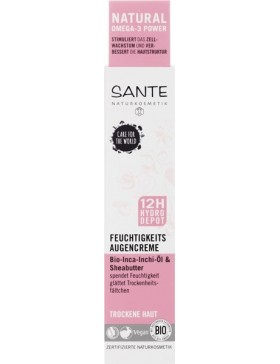 Sante Moisturizing Eye cream with bio shea butter and inca inchi oil