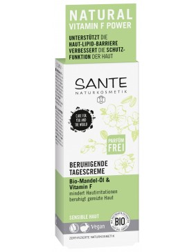 Sante Soothing Day Cream with bio almond oil&vitamin F
