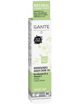 Sante soothing eye cream-gel with bio almond oil&vitamin F