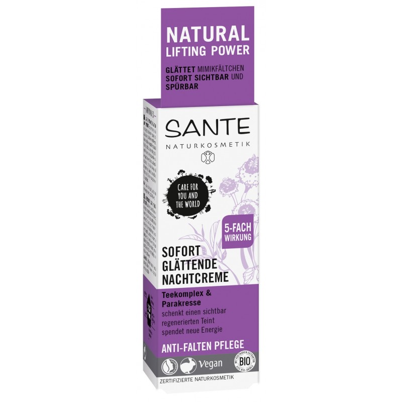 Sante Instantly smoothing night cream