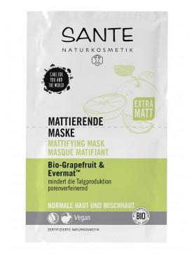 Sante Mattifying Mask Bio-Grapefruit&Evermat