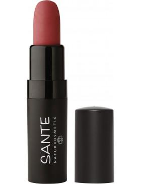 Sante Lipstick Mat Matt Matte 02 pure rosewood
