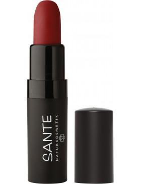 Sante Lipstick Mat Matt Matte 04 kiss-me red
