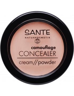 Sante Camouflage Concealer Cream//Powder 01 beige