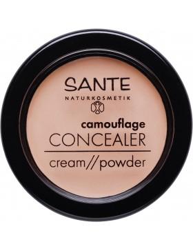 Sante Camouflage Concealer Cream//Powder 02 sand