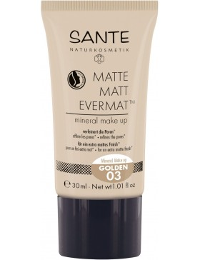 Sante Matte Matt EvermatTM Mineral Make up 03 golden