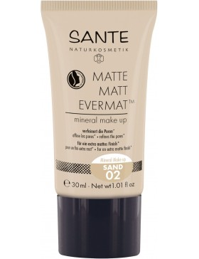 Sante Matte Matt EvermatTM Mineral Make up 02 sand
