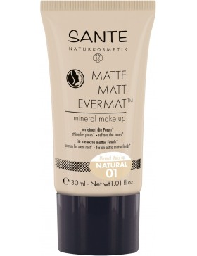 Sante Matte Matt EvermatTM Mineral Make up 01 natural