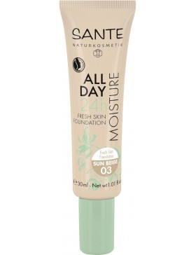 Sante All Day Moisture 24h Fresh Skin Foundation 03 sun beige