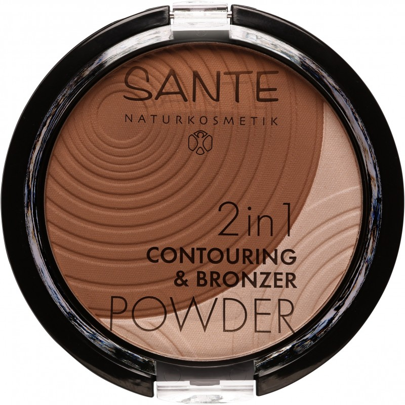 Sante 2in1 Contouring & Bronzing Powder 02 medium-dark