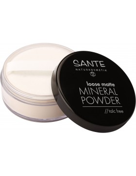Sante Loose matte Mineral Powder, 01 light beige