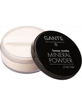 Sante Loose matte Mineral Powder, 01 light beige