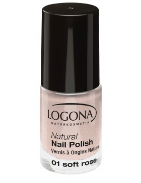 Natural Nail Polish no. 01 soft rose