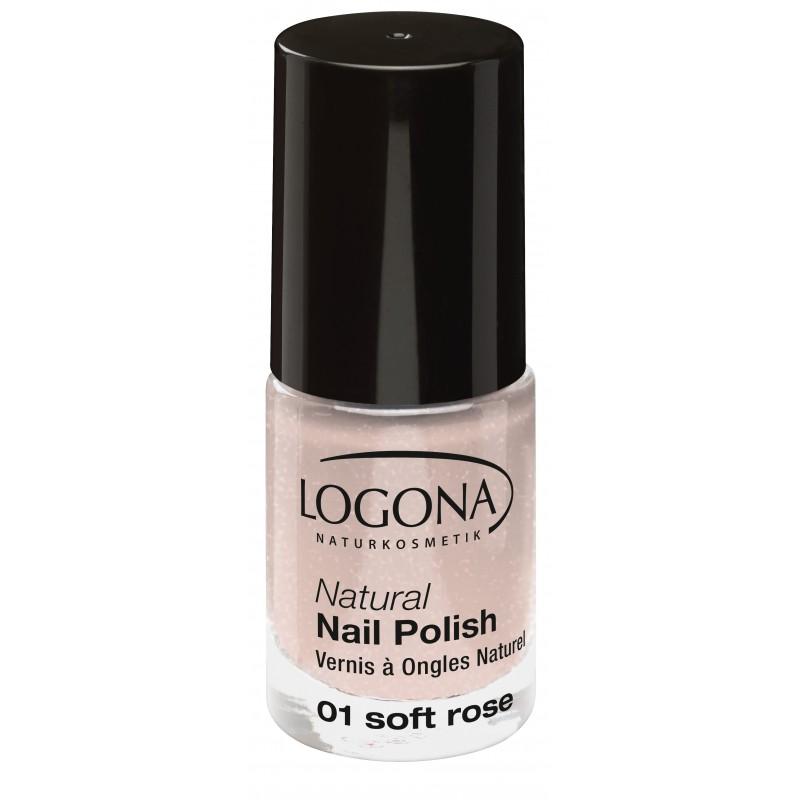 Natural Nail Polish no. 01 soft rose