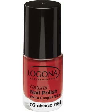 Natural Nail Polish no. 03 classic red