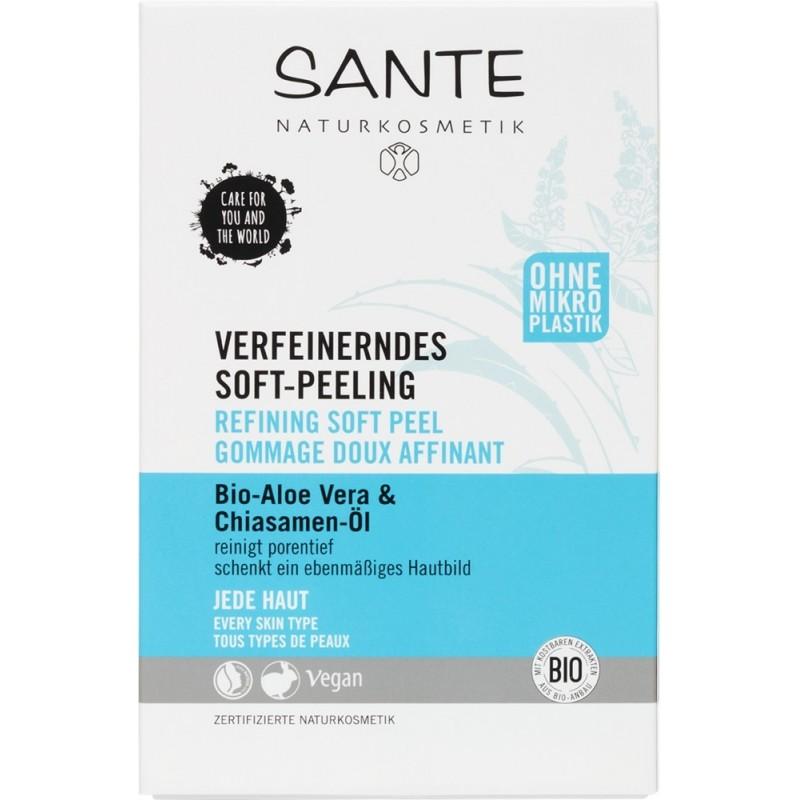 Sante Refining Soft Peeling with Bio Aloe Vera and chia
