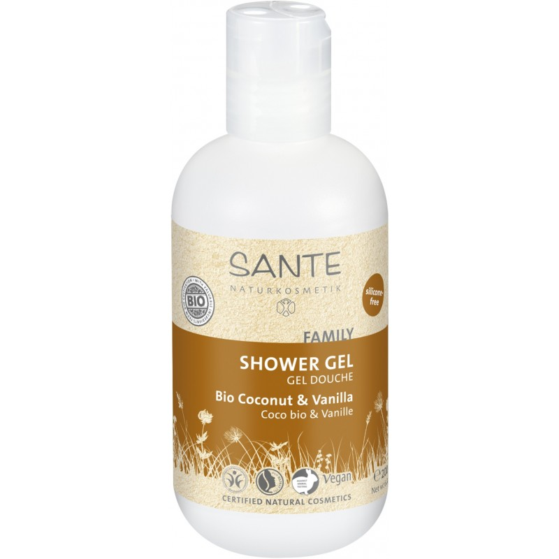 Organic Coconut & Vanilla Shower gel