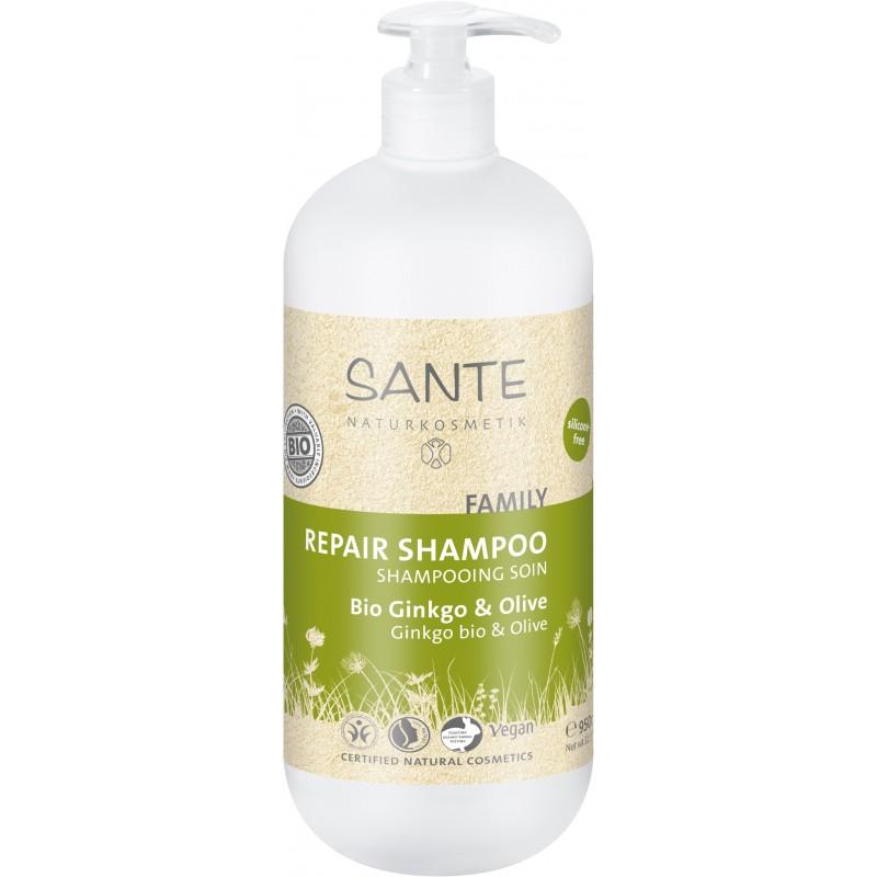 Organic Ginkgo & Olive Treatment Shampoo