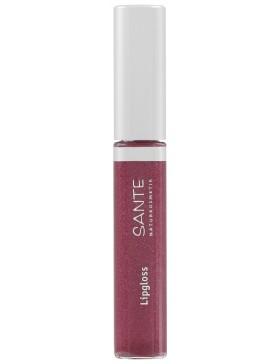 Sante Lipgloss No. 04, Red Pink