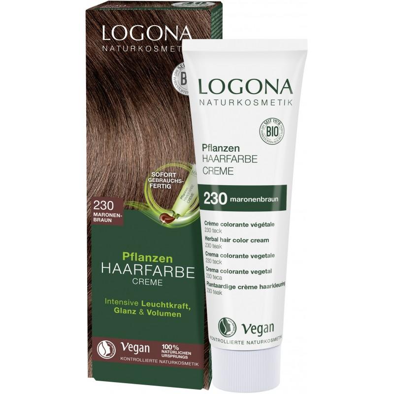 Herbal Hair Color Cream Chestnut Brown