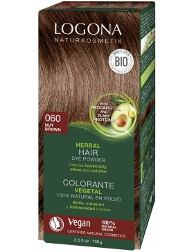 Walnut Red-Brown Herbal Hair Color