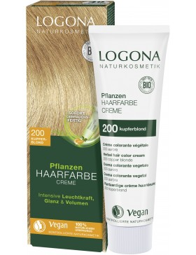 Herbal Hair Color Cream Copper Blonde