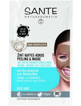 Sante 2in1 Coffee Coconut Scrub & Mask
