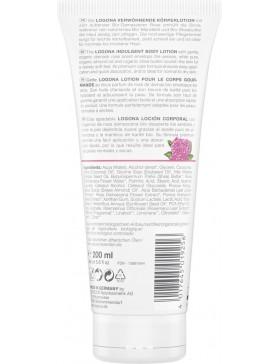Logona Indulgent Body lotion with bio Damask rose&shea butter