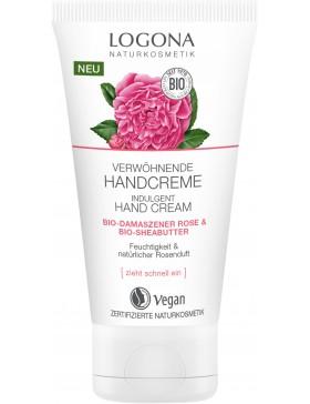 Logona Indulgent hand Cream bio Damask rose&shea butter