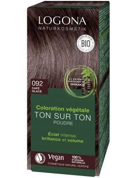 Herbal Hair Color Powder 092 Red brown