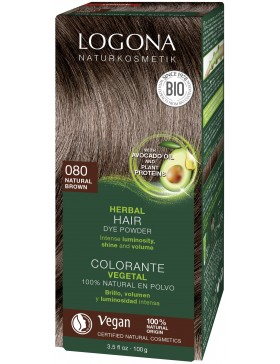 Natural Brown Herbal Hair Color
