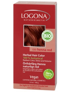 Henna Red Herbal Hair Color