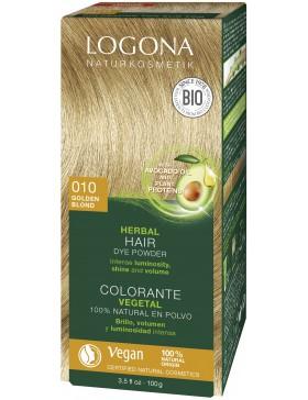 Herbal Hair Color Powder 010 Golden blonde