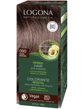Dark Brown Herbal Hair Color