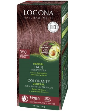 Mahogany Herbal Hair Color