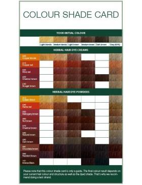 Herbal Hair Color Powder 070 Chestnut brown