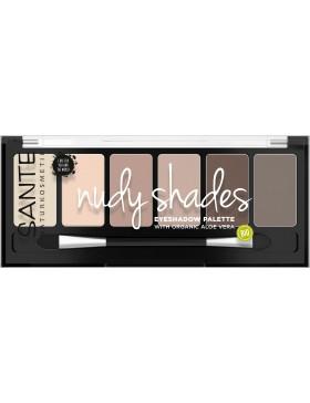 Sante Eyeshadow Palette, nudy shades